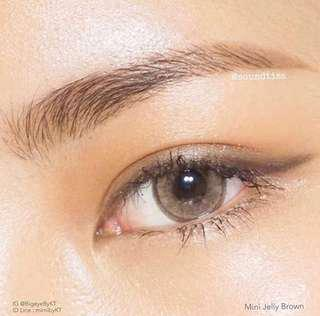 Mini Jelly Brown -1.50 Contact Lens