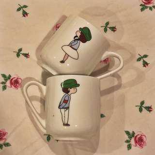 Ceramic Couple Mugs