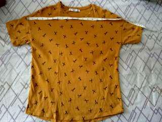 Mango Scissor Printed Tee Shirt