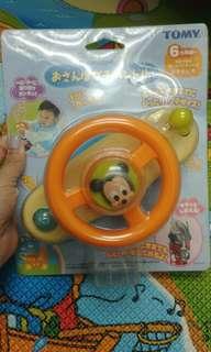 Tomy 米奇迪士尼 bb車軚盤玩具