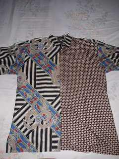 Kemeja batik pria ukuran jumbo