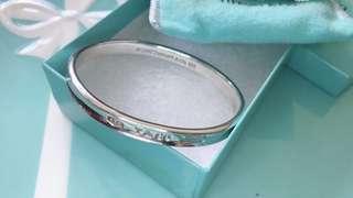 Tiffany &co 純銀手環 1875 愛心耳環 1875 耳環