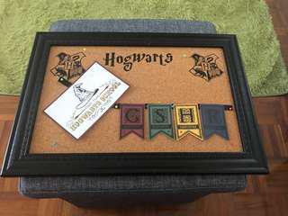 Harry Potter Hogwarts 水松木板