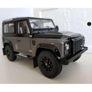 1/18 Kyosho Land Rover D90 Autobiography DAMAGED