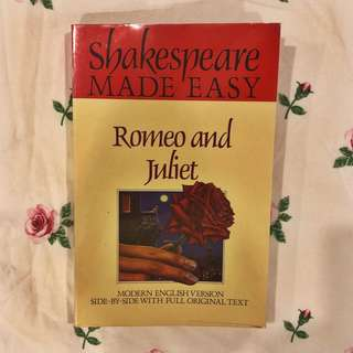 Romeo & Juliet - Shakespeare Made Easy