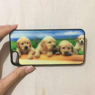 3D dogs hardcase iphone 5 / 5s