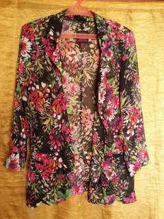 Preloved Floral Formal Blazer
