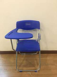 Study Office Chairs With Foldable Desk