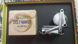 Champion Golf Namer