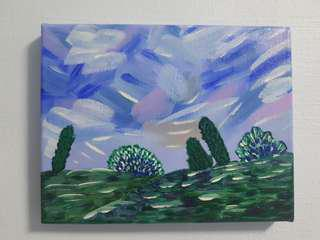 Original Acrylic Painting/Art: Landscape - A Place i want to be