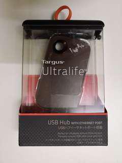 Targus ULTRALIFE 3 USB HUB with Ethenet port #mscgadget