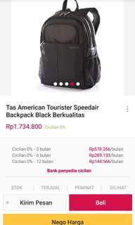 Backpack American Tourister Speedair 100%Authentic