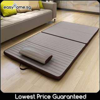 Foldable Mattress/ 2 Sizes / 2 Colors/ Breathable