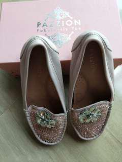 Pazzion Pink Girls Shoes - Size 29
