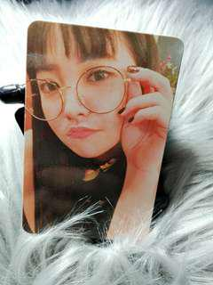 Red Velvet Yeri Rookie Official Photocard