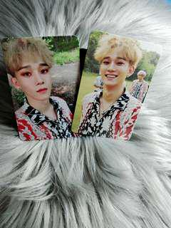 Chen The War Kokobop Official Photocard
