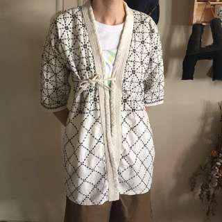 🚚 半纏 和服 劍道服 刺繡 東洋 民族風 外套 古著 復古 老品 古布 浴衣 職人