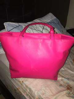 Victoria shocking pink bag