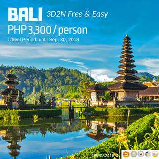 3D2N Bali Free and Easy Tour Package