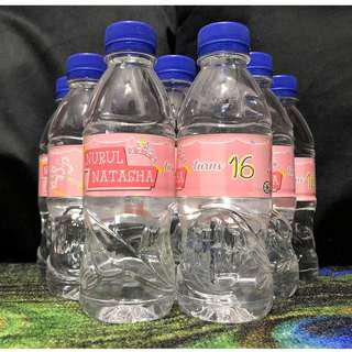 Customized Bottled Mineral Water