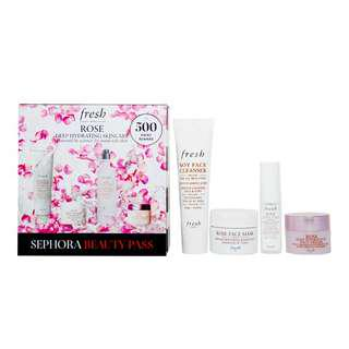 Fresh Rose Deep Hydrating Skincare Set