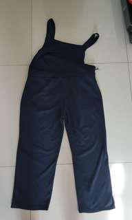Korean style dark blue jumpsuit new without tag