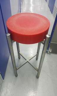 Whol Set Chopping board & Metal Stool