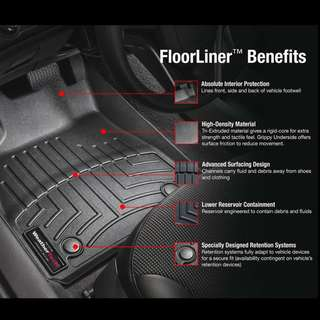 WeatherTech Extreme Duty Floor Liner (Mat) for BMW 7- Series (G11/G12)  (1st Row)