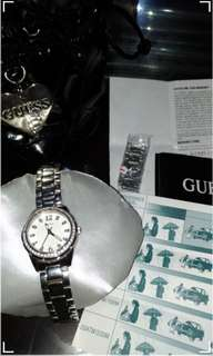 GUESS DESIRE Ladies Sport Series ※ Silver & Crystals