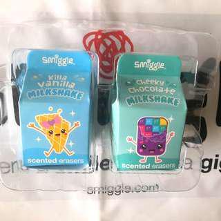 Smiggle Milkshake Eraser