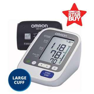 🚚 Brand New! Large Cuff - Automatic Omron Blood Pressure Monitor - HEM 7130L - 60 Memories with Date and Time