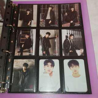 UP10TION Longguo Shihyun B1A4 Block B Hyeongseop Euiwoong SF9 Photocard Official