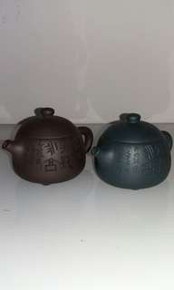 Vintage Zisha Teapots