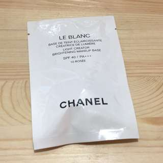 (包平郵)Chanel 淨白防護妝前乳 10 Rosee Le Blanc Make Up Base Foundation 粉底液 dior