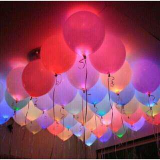Led light balloons 5 pcs/pack