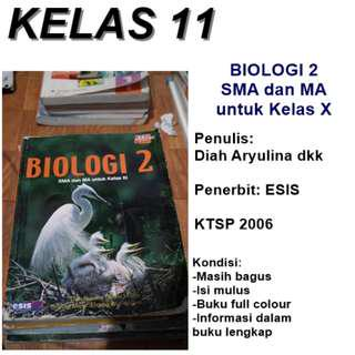 Buku BIOLOGI ESIS Kelas XI SMA