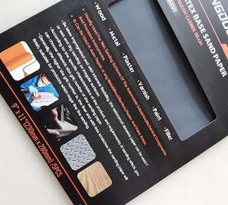 ROLLINGDOG Premium Latex Base Sand Paper (5 pcs)
