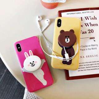 Iphone Case Cony and Friend
