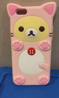 iphone6鬆瓷熊手機殼