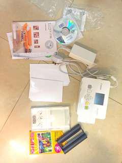 Selphy cp780 ink and photo paper included !!