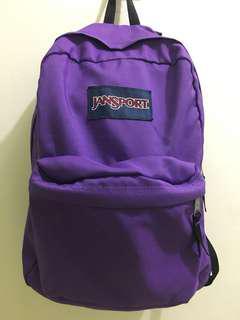 🚚 JANSPORT 基本款紫色 後背包