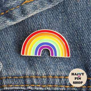 [IN STOCK] 🌈 Rainbow Enamel Pin