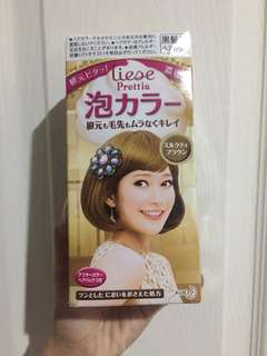 Liese hair coloring