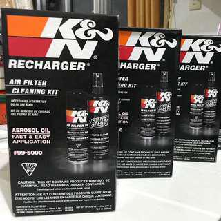 K&N Air Filter Cleaner & Filter Cleaning Accessories