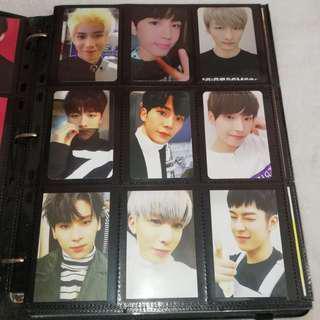 SF9 BTOB Photocard Official