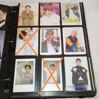 BTOB Wanna One Astro Photocard Official