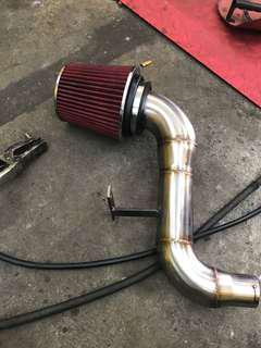 Peugeot 308 cold intake s/steel p&play