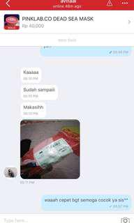 Testimoni Pinklab.co Dead Sea Mask