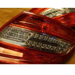 Original W204 C Class Mercedes Tail Lights Tail Lamp