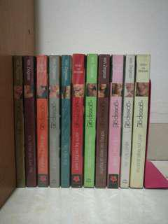 Complete set of Gossip girl (FREE one book below Rm10)